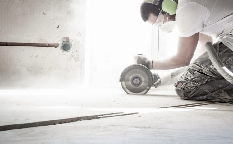How Do You Minimise Dust When Sawing Concrete?