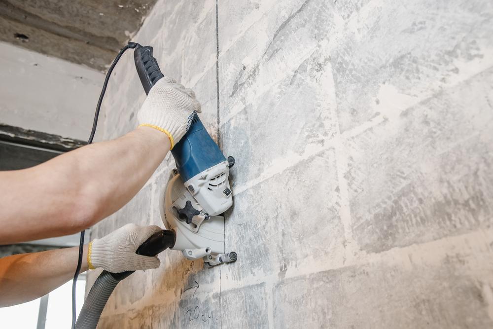 Is It Dangerous Cut Concrete Walls