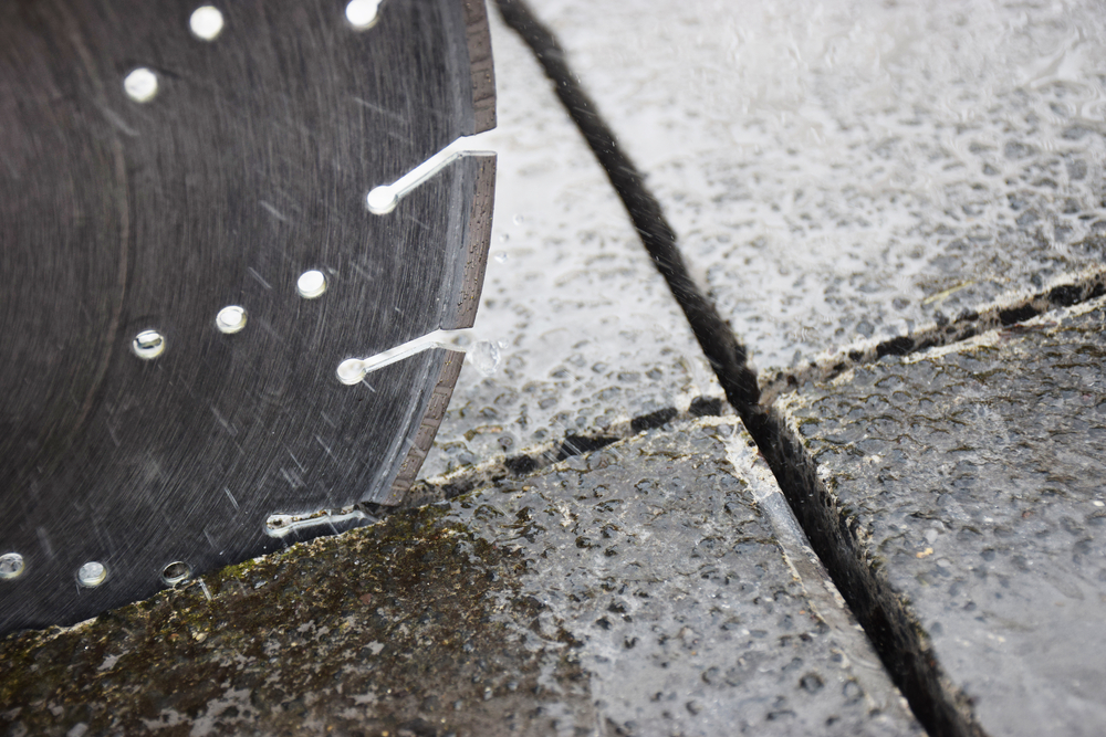 Tips Cutting Straight Lines Concrete