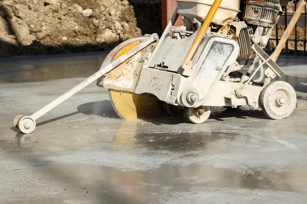 Why Concrete Made Wet Cutting Indoors