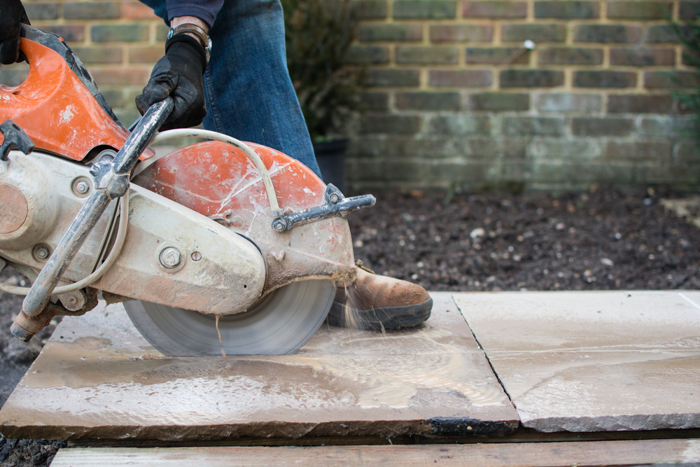 What Risks Involved Dry Cutting Concrete
