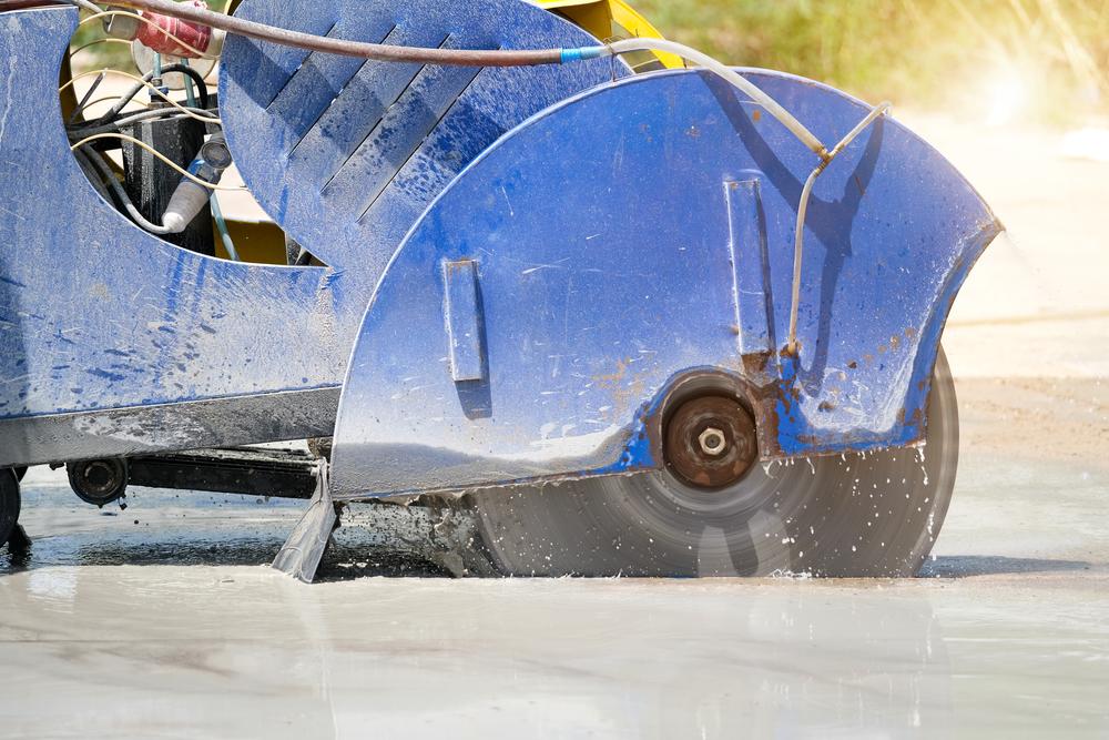 How Minimise Dust Sawing Concrete Sydney