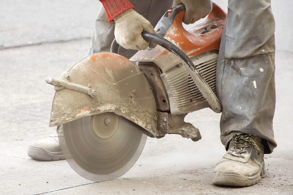 Safety Measures Need Concrete Cutting